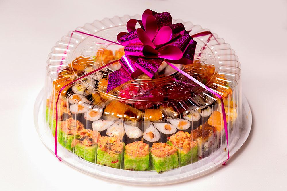 полудрагоценных отделочных торт из роллов фото своими руками будем использовать